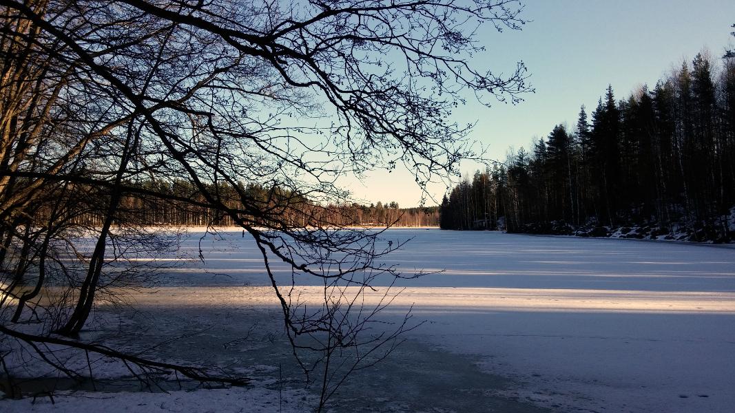 Kaihlajärvi ja Linnunsaari 15.3.2015
