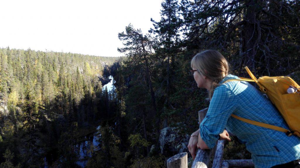 Julmaa Ölkkyä kiertämässä Hossan tulevan kansallispuiston naapurissa.