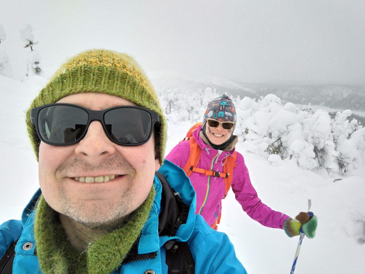 Valtavaaralle…hiihtämällä