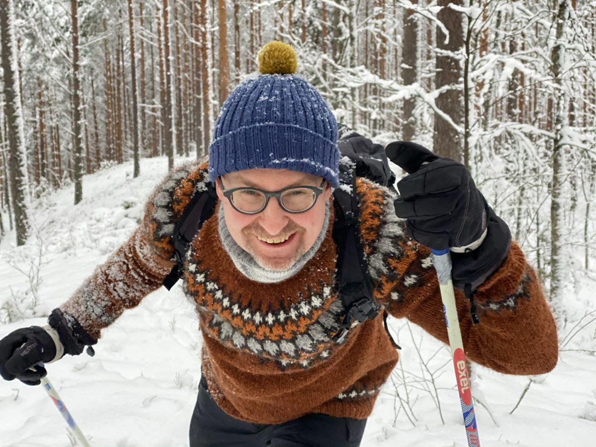 Suksilla metsään 6.1.2021